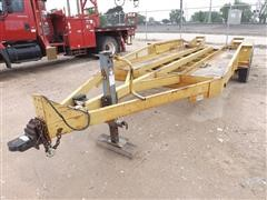 1990 Belshe T/A DitchWitch Trencher Trailer