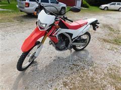2013 Honda Enduro CRF250L Dirt Bike
