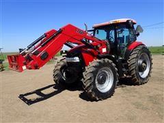 2011 Case IH Maxxum 140 MFWD Tractor W/L760 Loader