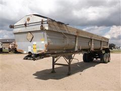2000 Lufkin T/A Hydraulic End Dump Trailer