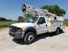 2006 Ford F450XL Super Duty Bucket Truck