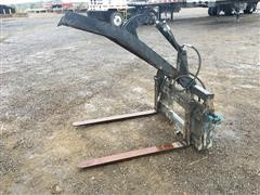 Skid Steer Pallet Forks W/ Grapple