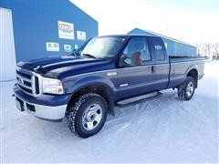 2006 Ford F350 XLT Super Duty 4X4 Extended Cab Pickup
