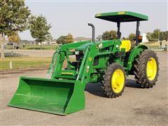 2016 John Deere 5055E MFWD Tractor/Loader