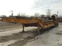 1982 Load King PCS252 T/A Lowboy Trailer