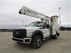 2011 Ford F550 4WD Bucket Truck
