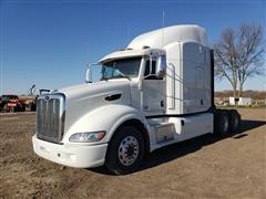 2013 Peterbilt 386 T/A Truck Tractor