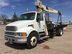 2001 Sterling Actera S/A Boom Truck W/National 300B
