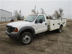 2005 Ford F450 2WD Service Truck