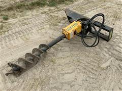 BellTec Skid Steer Post Hole Digger