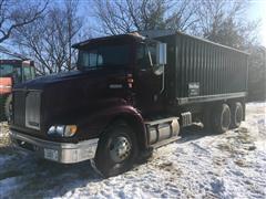 1999 International 9200 T/A Grain Truck