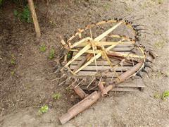 3-PT 2 Wheel Rake
