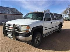 2001 GMC 2500 HD Extended Cab 4x4 Pickup