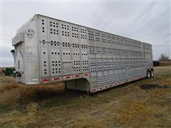 1984 Guthrie T/A Livestock Trailer