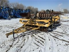1991 Landoll 875-21 21' Disk Ripper W/Flails And Harrows