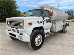 1988 Chevrolet C70 S/A Fuel Truck
