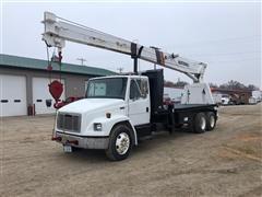 2004 Freightliner FL80 T/A Boom Truck W/800 Series National Crane