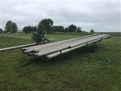 "Heinzman 6"" Aluminum Irrigation Pipe & Trailer"