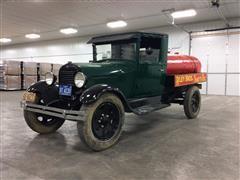 1929 Ford Model A Truck W/Tank