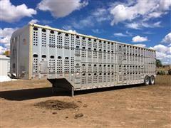 1998 Merritt T/A Livestock Trailer