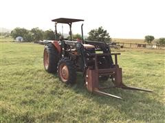 Kubota M6800 Utility Tractor