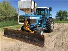 1982 Ford TW30 2WD Tractor W/Front-Mounted Blade