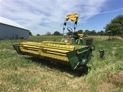 1968 John Deere 880 Self-Propelled Windrower