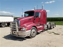 2011 Kenworth T660 Tri/A Truck Tractor