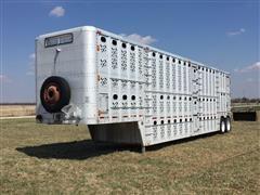 1985 Wilson PSDCL-108 T/A Livestock Trailer