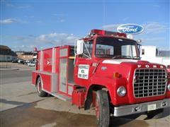 1972 Ford 750 Pumper Truck