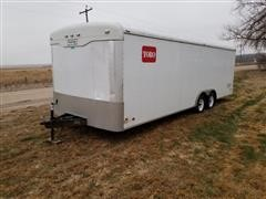 2002 Haulmark TH85x24WT2 T/A Enclosed Cargo Trailer