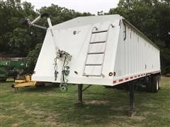 2008 Neville T/A Grain Trailer