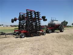 2004 Case International SDX40 Air Seeder And 3380 Air Cart