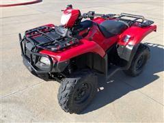 2015 Honda TRX500FA 4x4 ATV