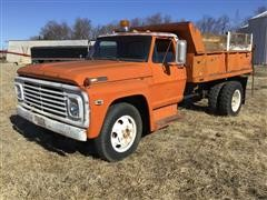 1968 Ford 602C S/A Dump Truck