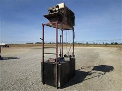 Reznor RA235 Multi-Oil Fired Heater, Stand And Oil Tank