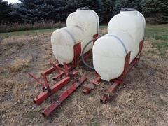 200-Gal Poly Saddle Tanks