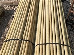 "1 1/4"" X 6' Long High Tensile Electric Fiberglass Fence Posts"