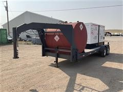 2007 Magnum MMG125 125KW Generator & T/A Trailer