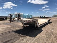 1989 Dakota Trail-Eze 5548-1320WS T/A Lowboy Trailer