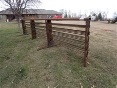 Wolles 24' Freestanding Livestock Panel