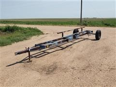Shop-Built Header Trailer