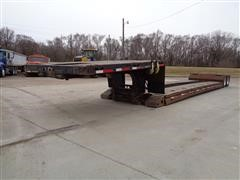 "1999 TrailNor Detachable 48' X 96"" T/A Lowboy Trailer"