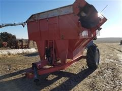 United Farm Tools 500 Bu Side Fold Grain Cart