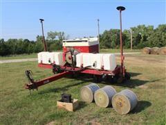1993 Case IH 950 Cyclo 6R30 Pull Type Air Planter W/Liquid Fertilizer