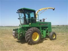 John Deere 5830 2WD Self-Propelled Forage Harvester & Auger Attachment