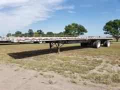 2001 Wilson CF-900 T/A Flatbed Trailer