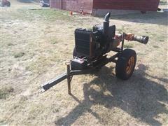 "Berkeley 6"" Portable Water Pump W/Isuzu 4 Cyl Power Unit"