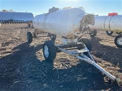 1000 Gal Anhydrous Tank On Running Gear