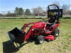 2018 Mahindra EX20S4FHILM EMax 20S HST MFWA Compact Utility Tractor W/Loader & Mower